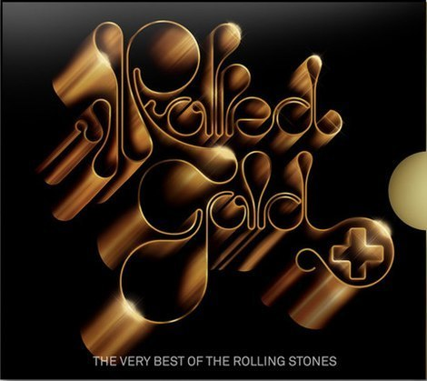 Lettering and Handwriting - Rolling Stones: Rolled Gold +
