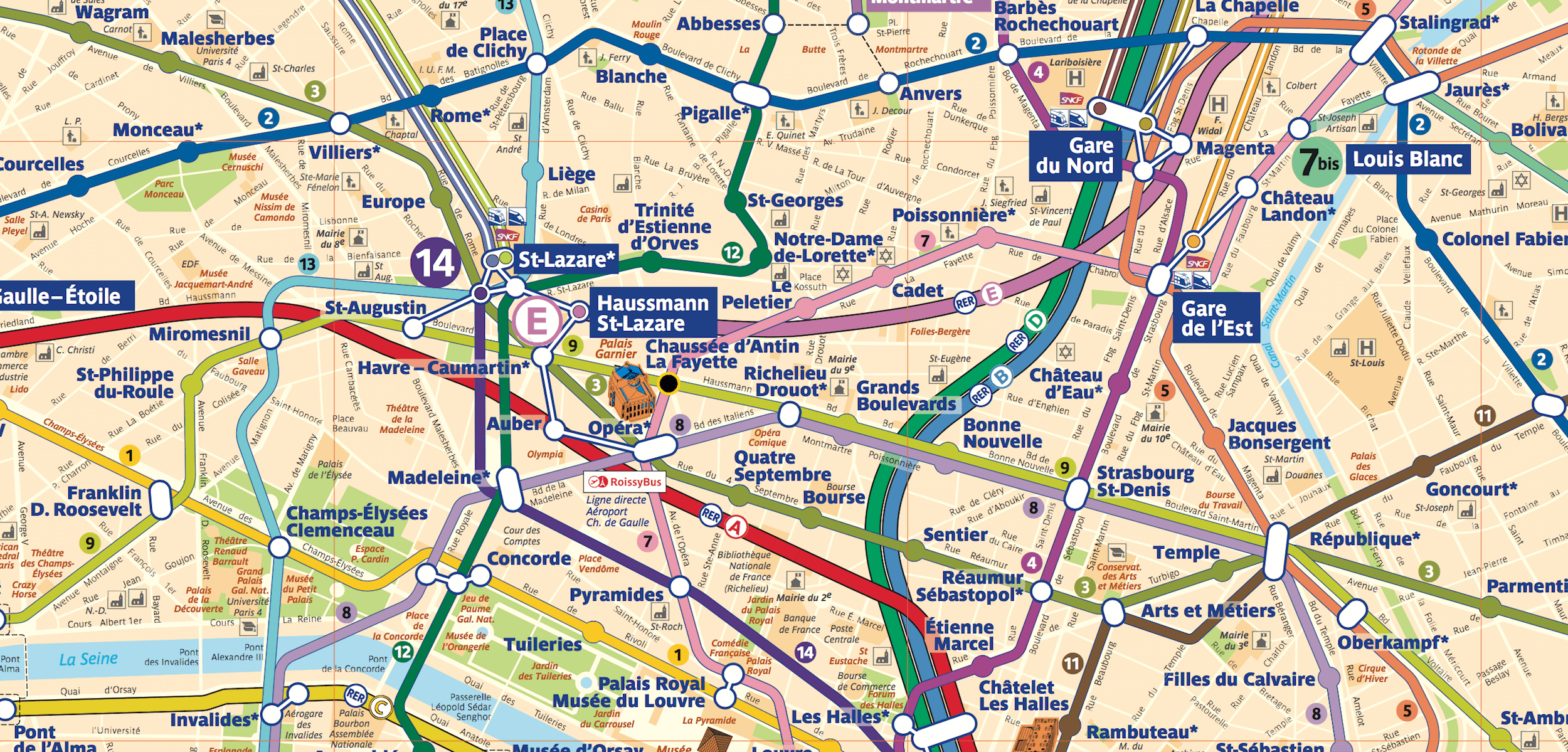 Paris Metro Map – The Redesign — Smashing Magazine