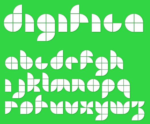 Beautiful Free Fonts - Digitica