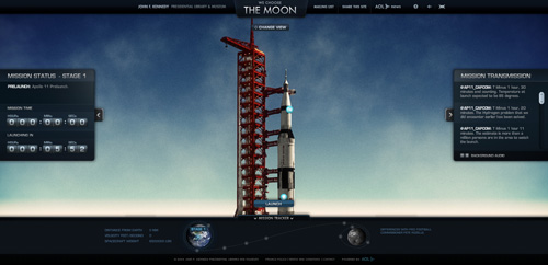 We Choose The Moon in Background Video Showcase