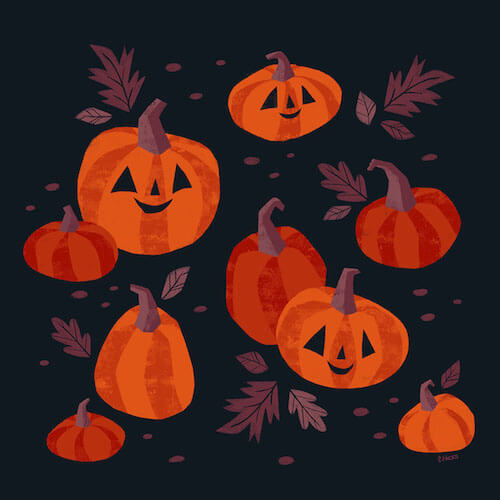 'Pumpkins' by Caley Hicks