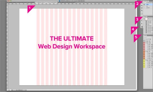 The Ultimate Photoshop Web Design Workspace