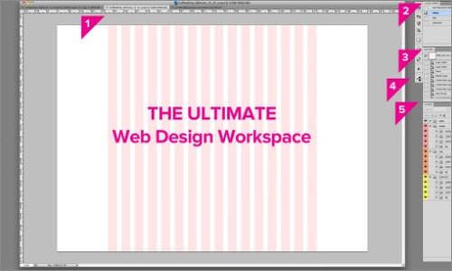 The Ultimate Photoshop Web Design Workspace