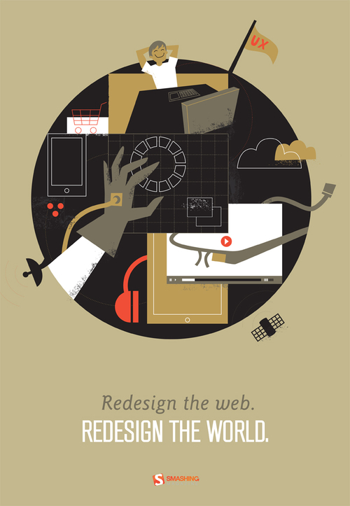 Redesign the Web Poster