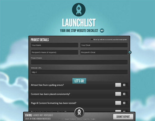 Launchlist's Branding