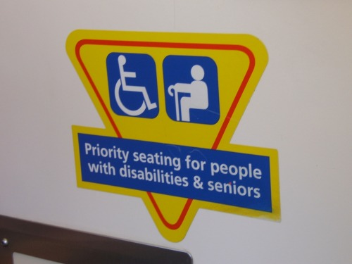Wayfinding and Typographic Signs - disability-senior-signs
