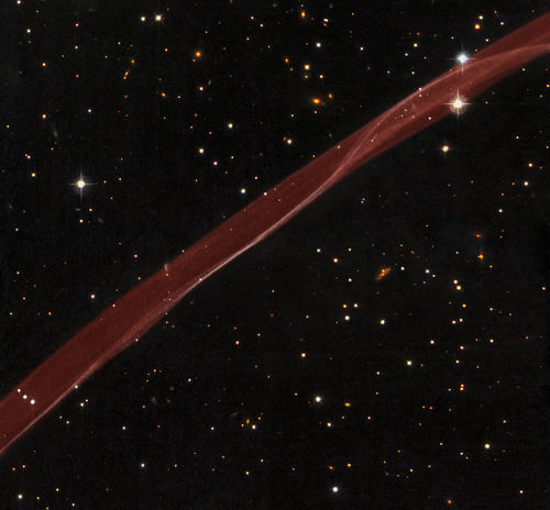 Space Photography - 2008 September 15 - SN 1006: A Supernova Ribbon from Hubble