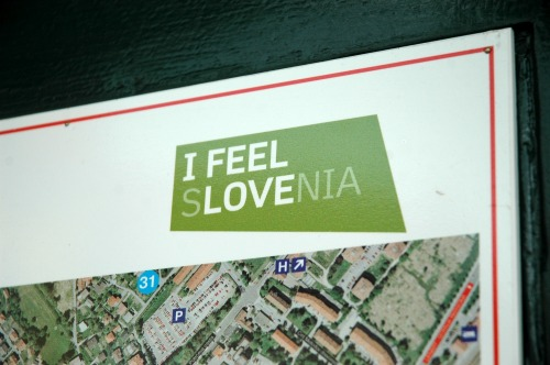 Wayfinding and Typographic Signs - i-love-slovenia-signage