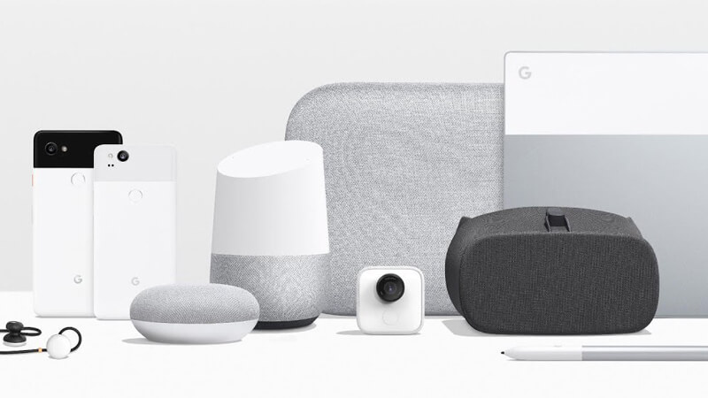 Google's diverse hardware product line up encompasses everything from virtual reality to mobile experiences.