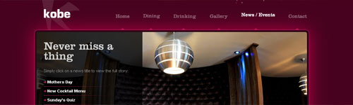 Kobe Website