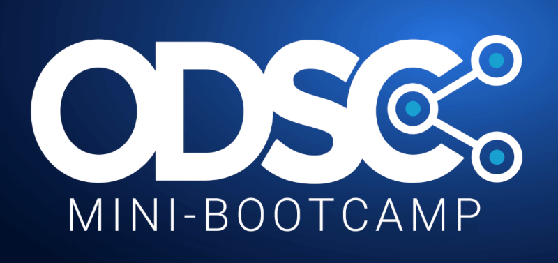 ODSC East 2021 Virtual Conference / Mini-Bootcamp