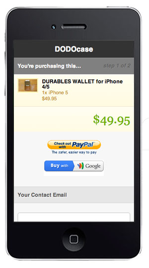 Mobile e-commerce experiences on Shopify.