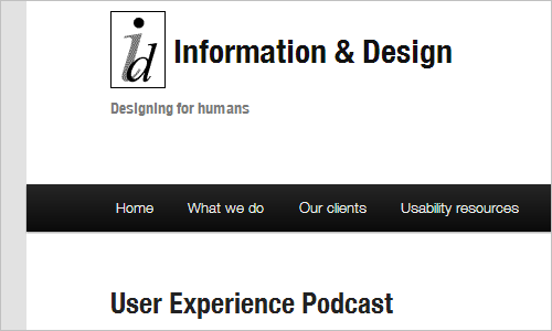 User Experience Podcast