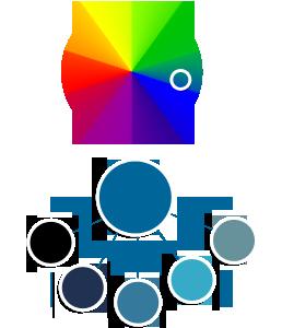 Color palette in Tomer Hanuka's illustration