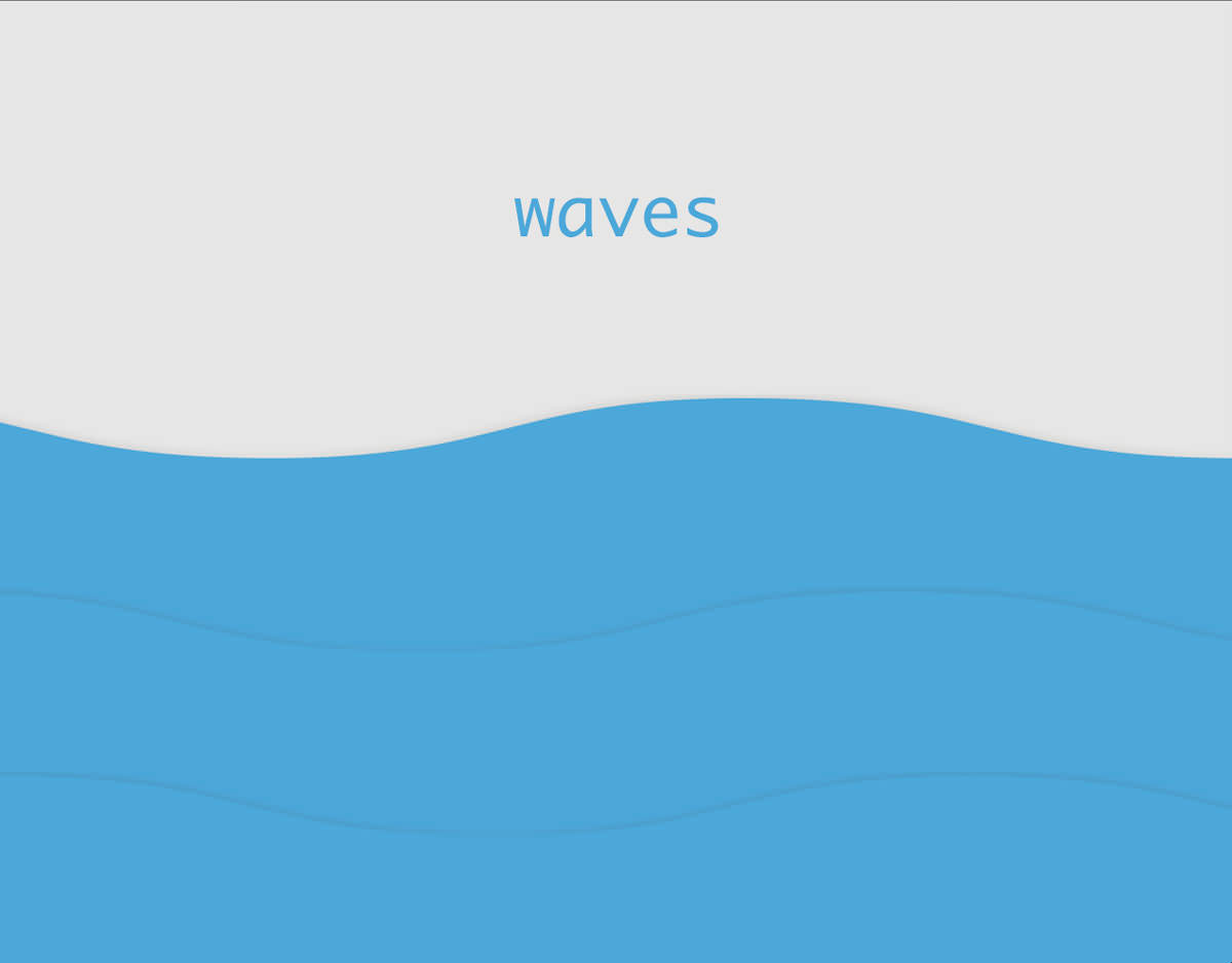 Css Wave Background Animation