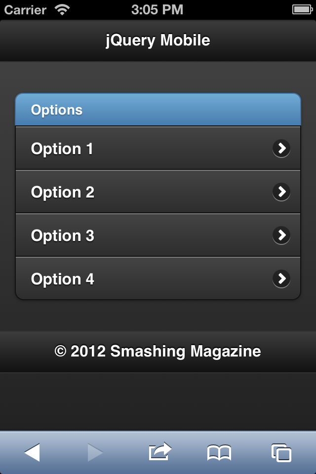 How To Get Started With jQuery Mobile — Smashing Magazine