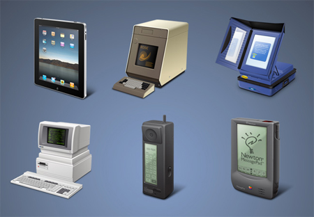 Free Icon Sets - Guifx : Touchscreens That Changed the World