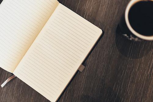 Blank Notebook.