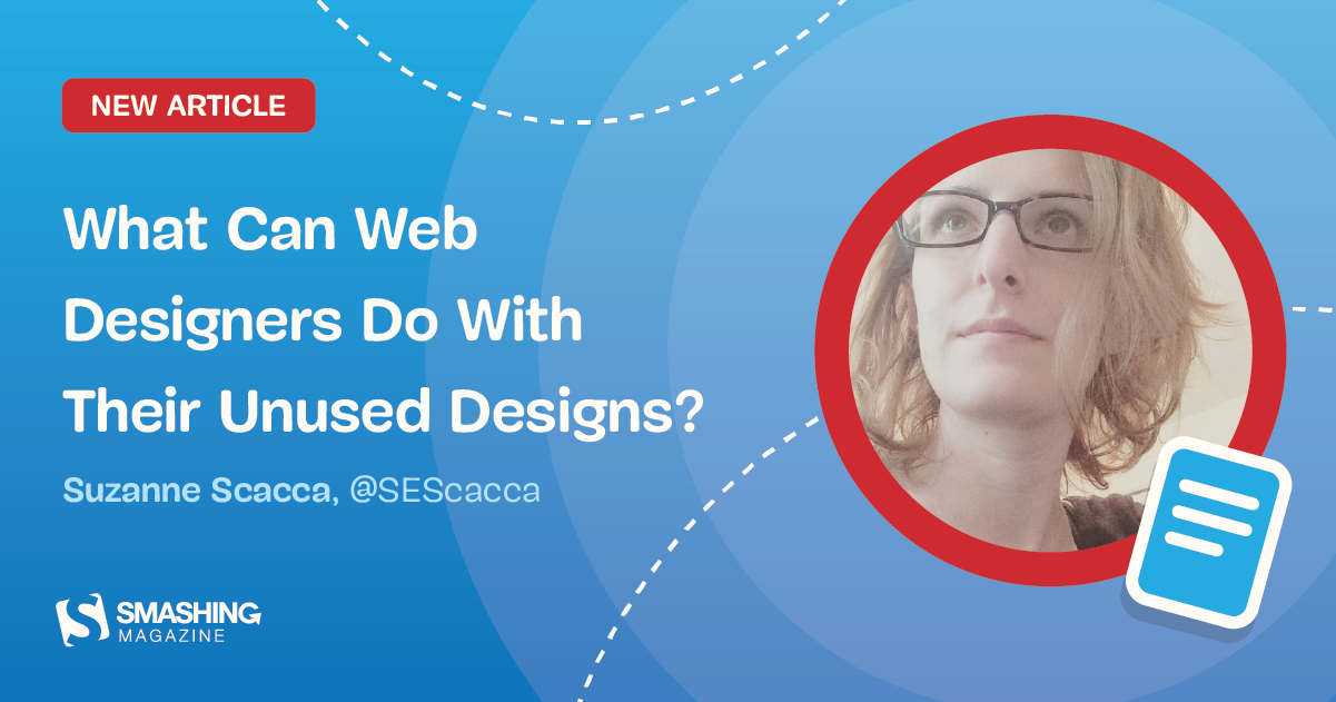 What Can Web Designers Do With Their Unused Designs?