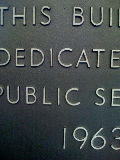 Wayfinding and Typographic Signs - seattle-dedication