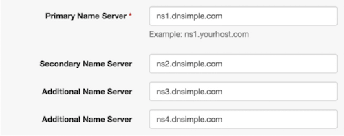 Multiple nameservers from only one DNS provider