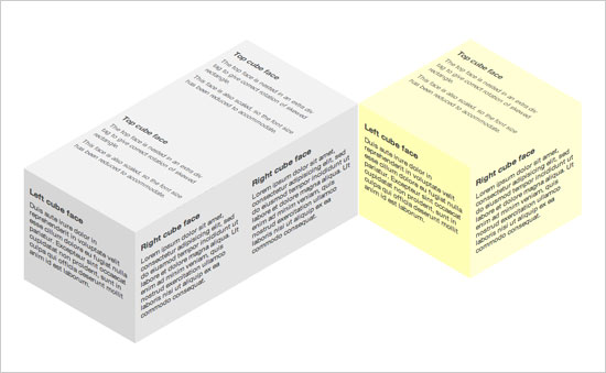 3D Box CSS