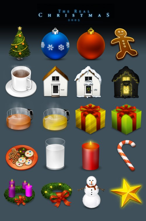 Free High Quality Icon Sets - The Real Christmas ë05 Reloaded