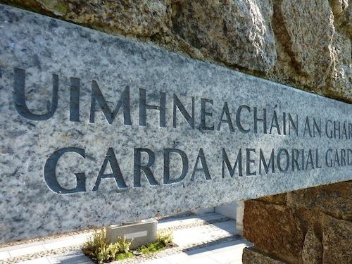 Carved Dual-Language Granite Plinth