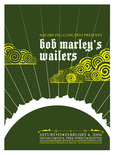 Bob Marley's Wailers by Mike Klay