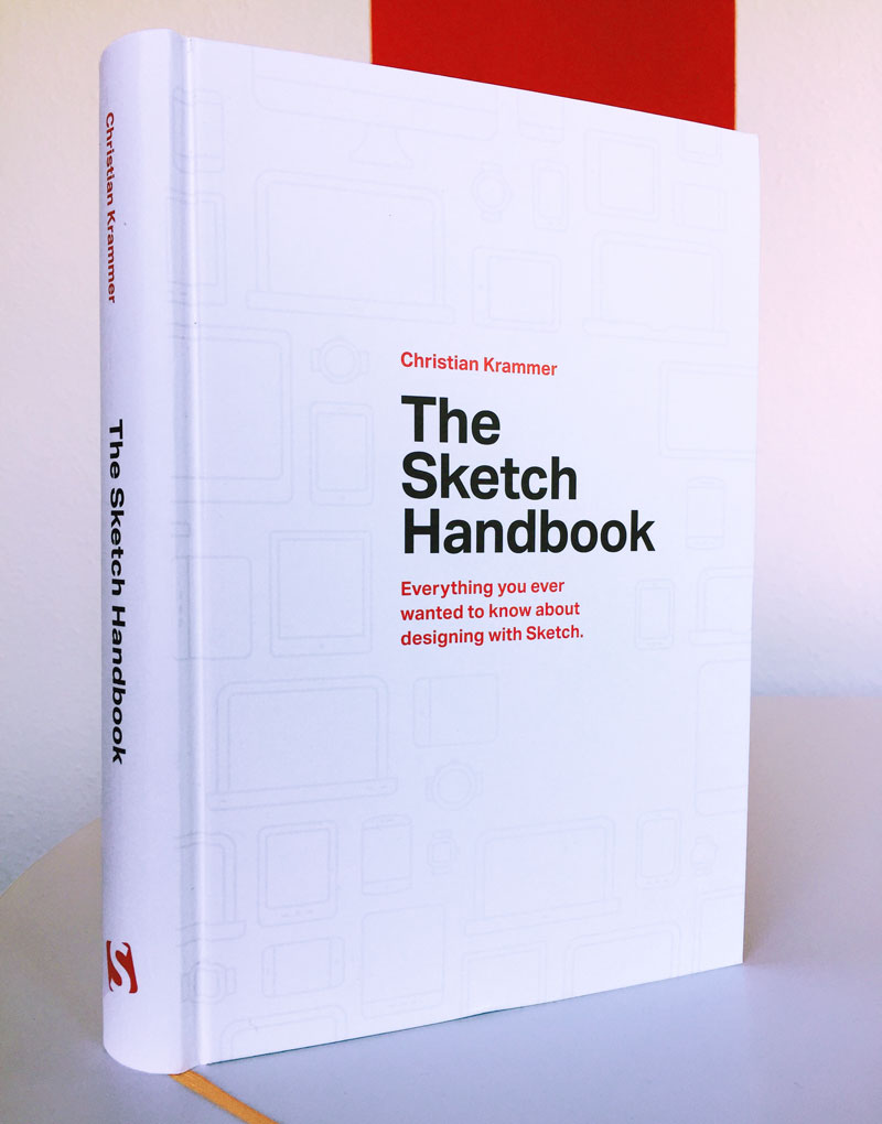 A photo of the new Sketch Handbook