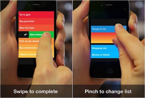 In-App Gestures And Mobile App User Experience