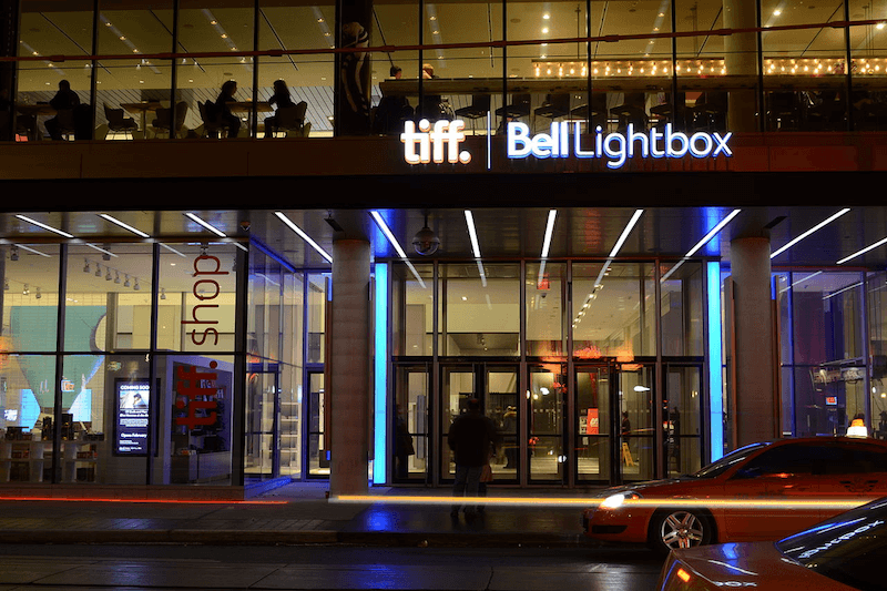 TIFF Bell Lightbox, our venue in Toronto