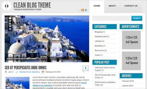Ophion Free WP Theme