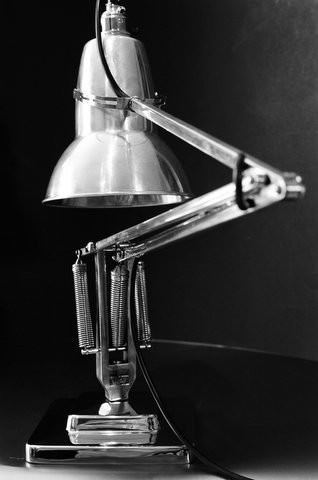 The Anglepoise lamp