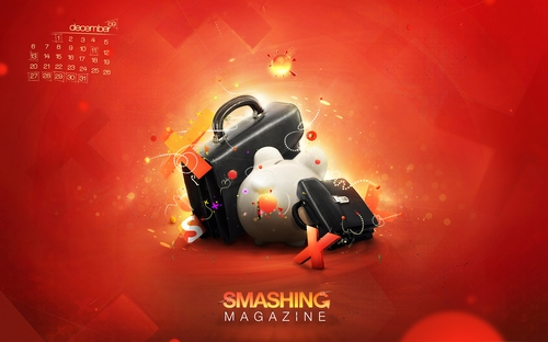 Smashing Wallpaper - december 09
