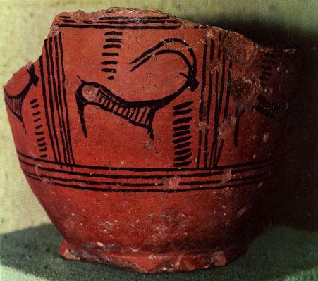 The History Of Logo Design - Fragment of a vase