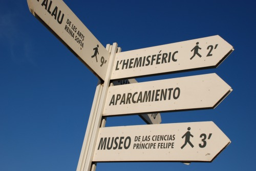 Wayfinding and Typographic Signs - direction-signs
