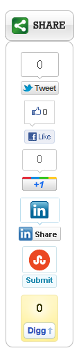Slick Social Share Buttons