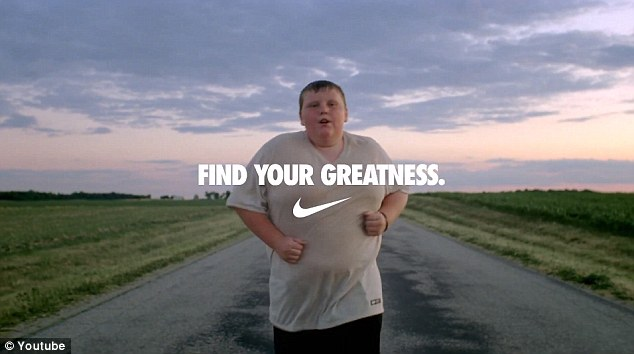 Nike's Find Your Greatness ad campaign