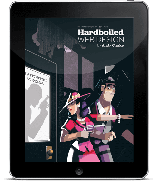 A look on the new Hardboiled Web Design Softcover