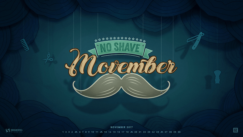 Delightful No Shave Movember