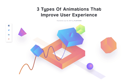 3 Types Of Animations That Improve The User Experience