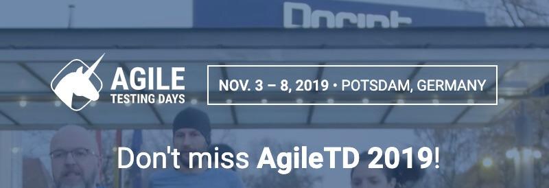 Agile Testing Days 2019