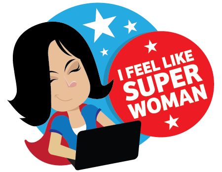 I feel like Superwoman