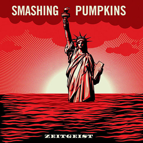 Smashing Pumpkins: Zeitgeist by Shepard Fairey