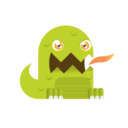 CSS3 Designs For Free Download - css3-monsters-dragon