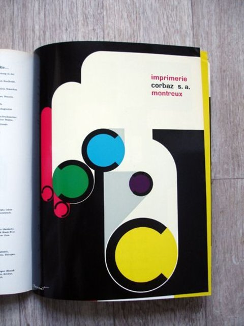 Swiss Graphic Design - Publicite 11 1964
