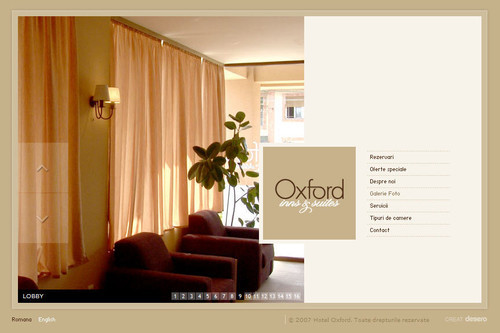 Showcase of Unusual Layouts - Hotel Oxford - Timisoara