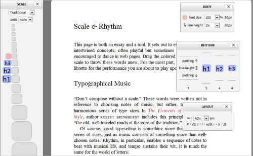 Typograph Scale & Rhythm