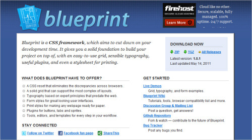 Blueprint website